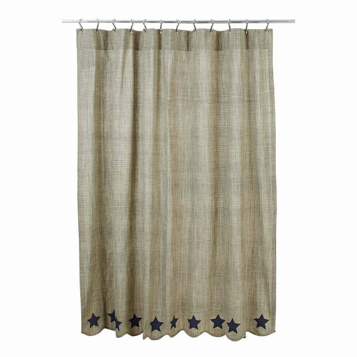 Victoria 100 Cotton Shower Curtain