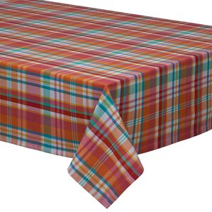 Alter Plaid Tablecloth