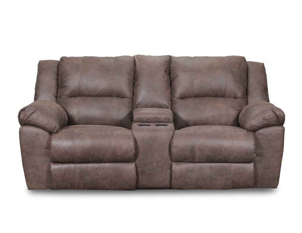 Loon Peak Umberger Double Motion Reclining Sofa By Simmons
