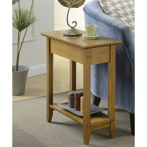 Bourges Flip Top End Table wit..