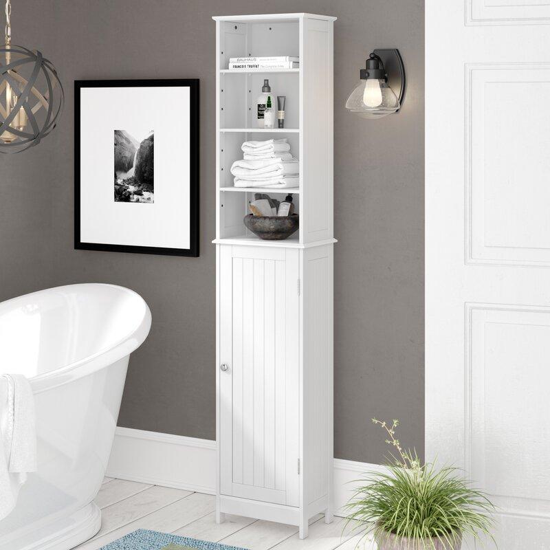 wayfair basics hampton free standing tall. Black Bedroom Furniture Sets. Home Design Ideas