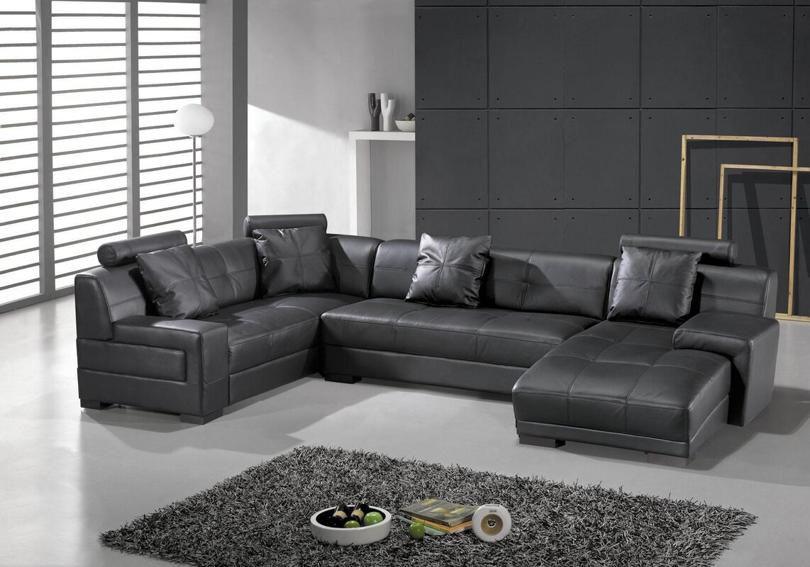 Houston Leather Sectional : high quality leather sectional - Sectionals, Sofas & Couches