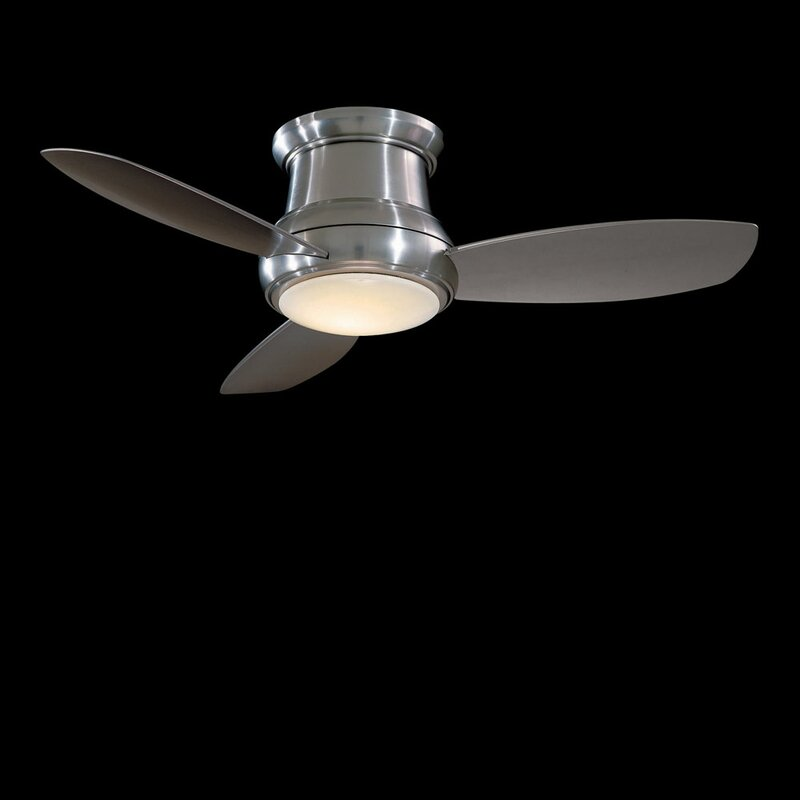 "Minka Aire 52"" Concept II 3 Blade LED Ceiling Fan with Remote"