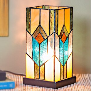 Critchlow Stained Gl 10 5 Table Lamp