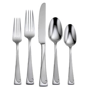 Script 45 Piece Flatware Set