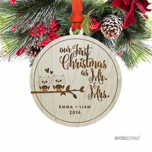 Our First Christmas Ornament | Wayfair