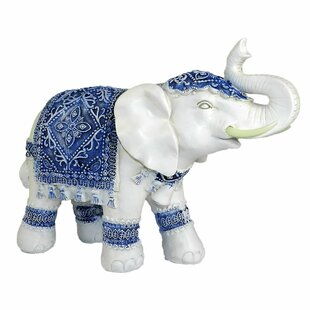 Petrillo Resin Elephant Figurine