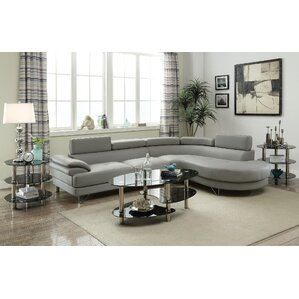 Ike Reclining Sectional by Orren Ellis