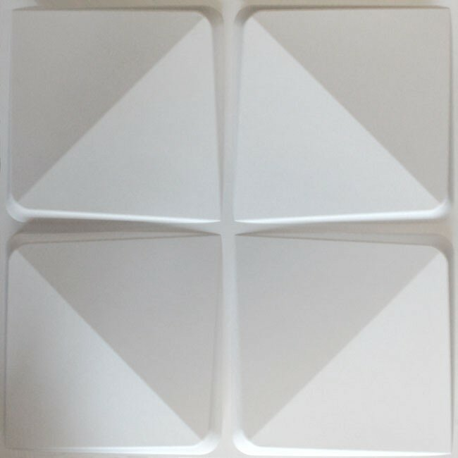 "eModern Decor Marcus 19.6' x 19.6"" Geometric 10 Piece Panels Wallpaper"