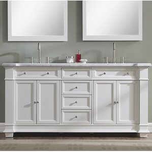 vanity bathroom double sink. Riccardo 72  Double Bathroom Vanity Set Vanities You ll Love Wayfair