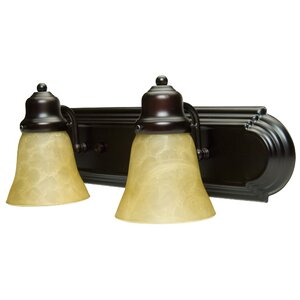 Benfield 2-Light Vanity Light