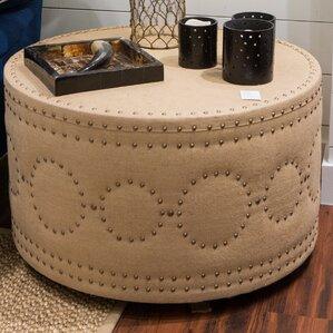 Siena Burlap Coffee Table by Imagine Home