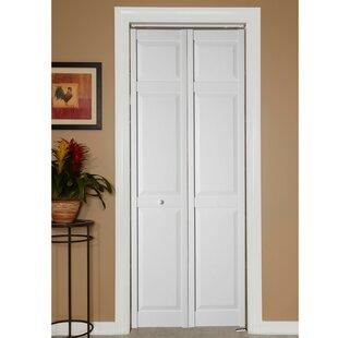 Solid Wood Panelled PVC Bi Fold Door
