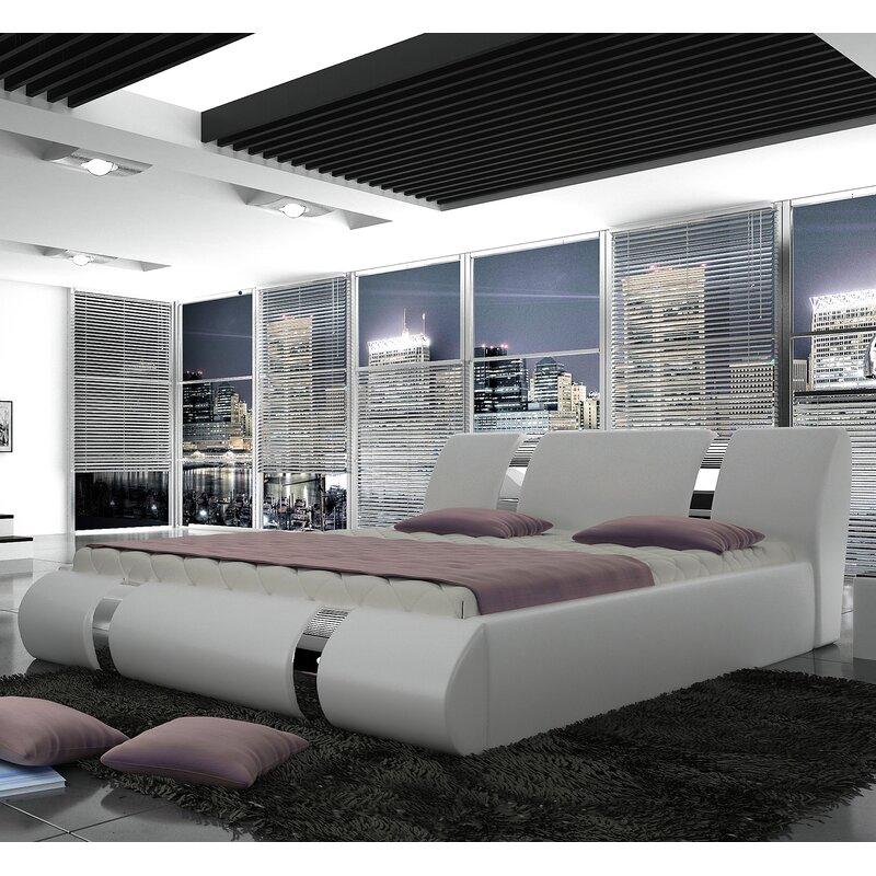 Orren Ellis Eile European Kingsize Storage Platform Bed With Mattress Wayfair
