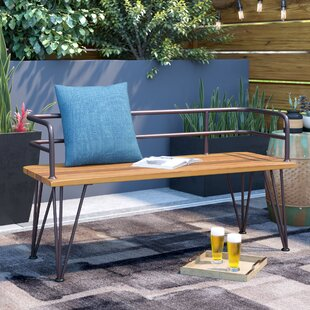 Ordinaire Guyapi Outdoor Wood Garden Bench