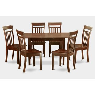 Balfor 7 Piece Extendable Dining Set