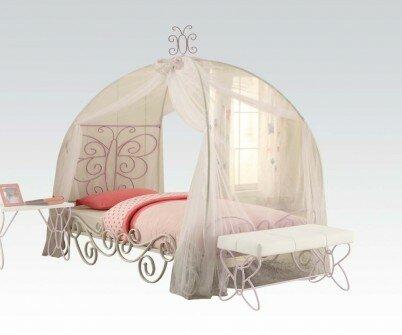 Priya II Canopy Bed  sc 1 st  Wayfair & ACME Furniture Priya II Canopy Bed u0026 Reviews | Wayfair