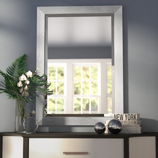 Rosdorf Park Beveled Rectangle Bathroom Vanity Wall Mirror