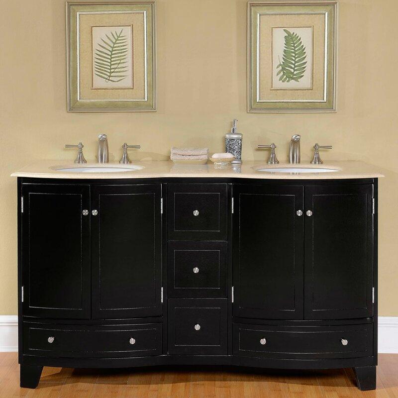 Inspirational 60 Double Vanity Cabinet