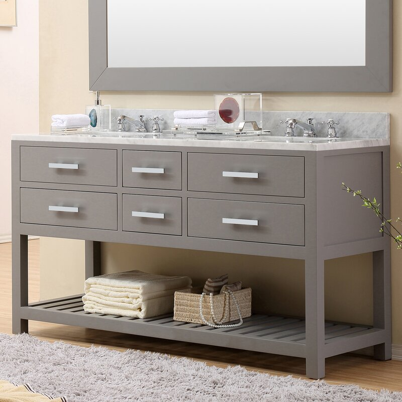 Darby Home Co Fran Double Sink Bathroom Vanity Set Reviews