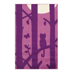 Lol Flatweave Purple Rug by Arte Espina