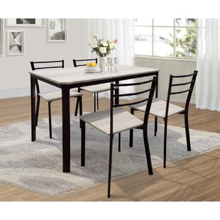 Leeds Dining Set With 4 Chairs
