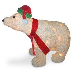 Decorative Décor Polar Bear Christmas Decoration