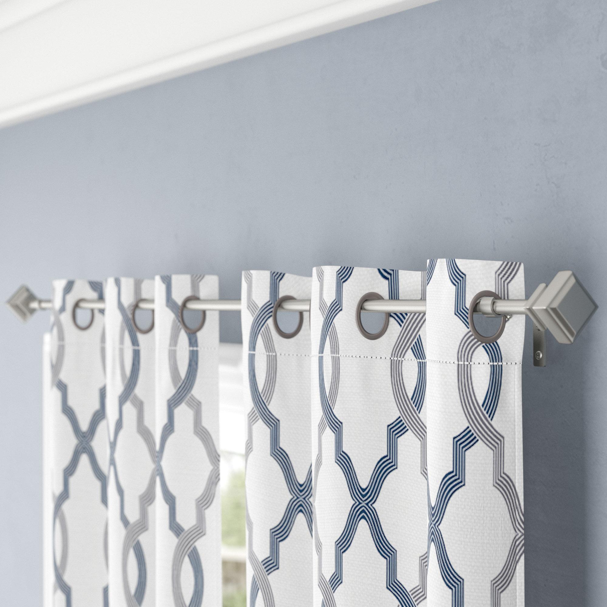 Three Posts Lockerbie Single Curtain Rod & Reviews | Wayfair
