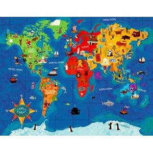 Big Wide World Canvas Art