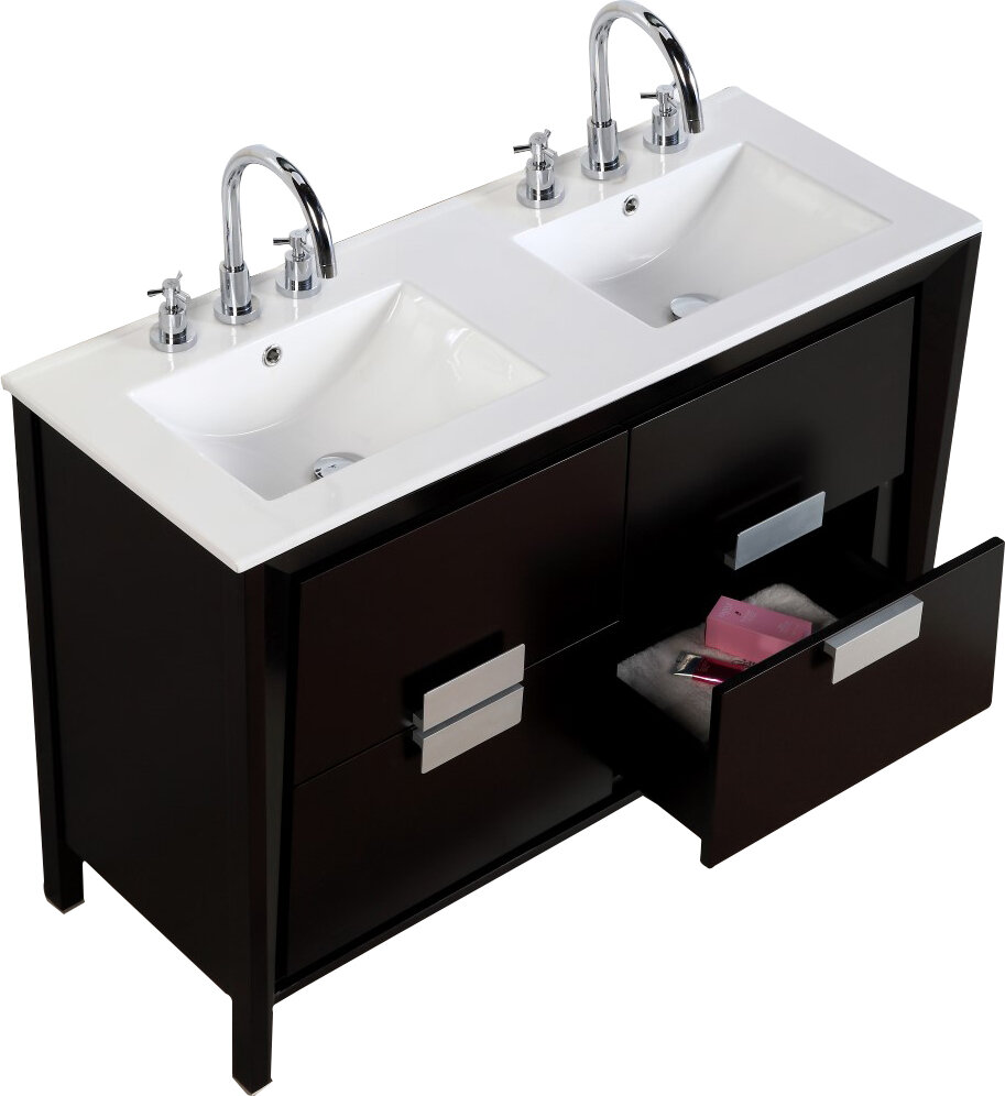 vanity to how a installing sink remove removing and in pedestal simple bathroom steps