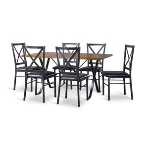 Baxton Studio 7 Piece Dining Set by Wholesale In..