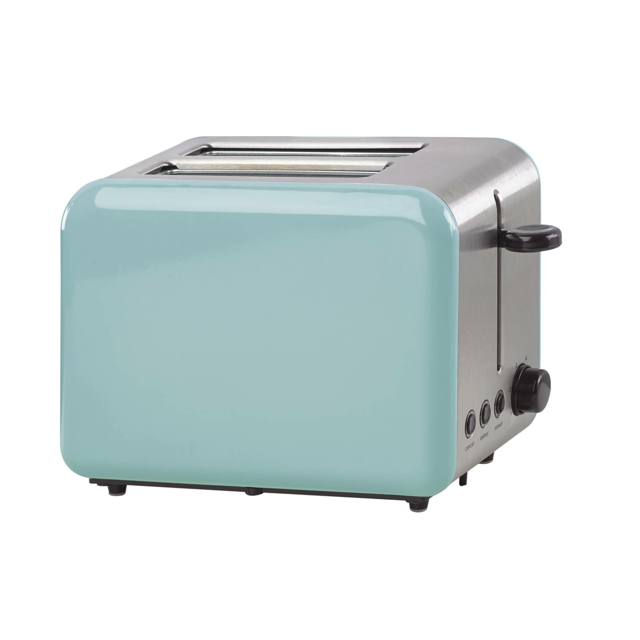 kate spade new york 2 slice all in good taste turquoise toaster