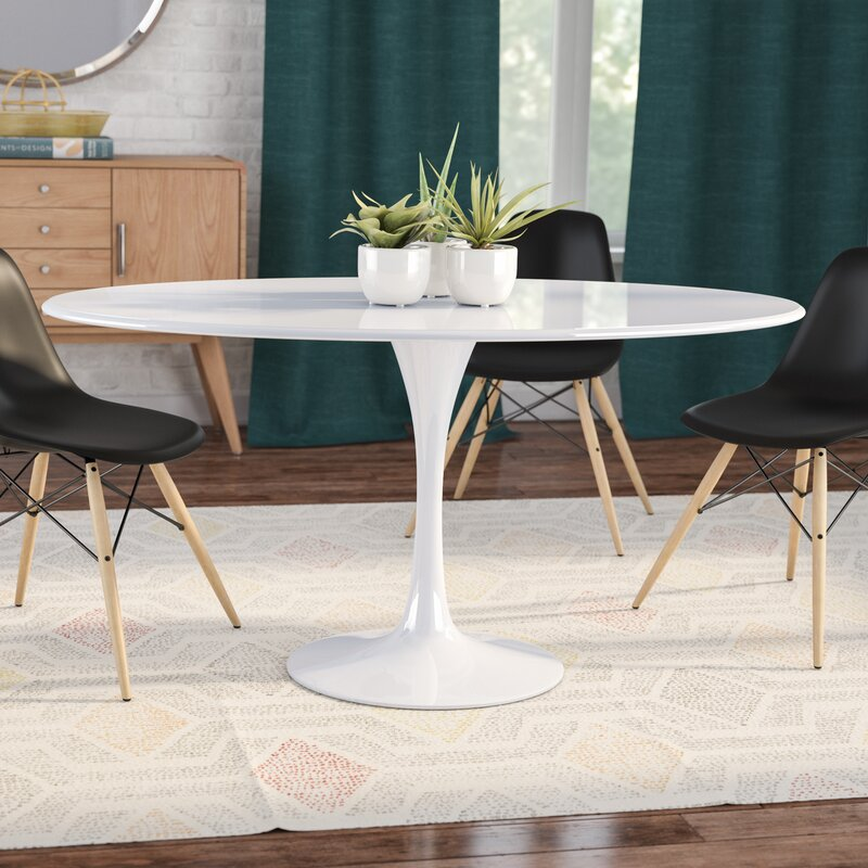 Julien Oval Dining Table & Reviews | AllModern