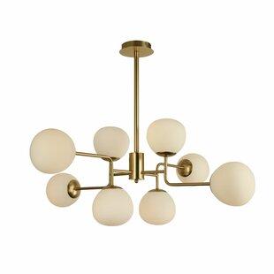 gold sputnik chandelier. Erich 8-Light Sputnik Chandelier Gold