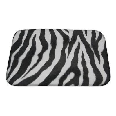 Capodanno Zebra Bath Rug