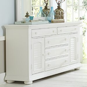 Landenberg 5 Drawers Combo Dresser