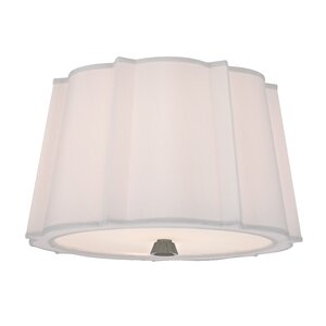 Menik 2-Light Semi Flush Mount