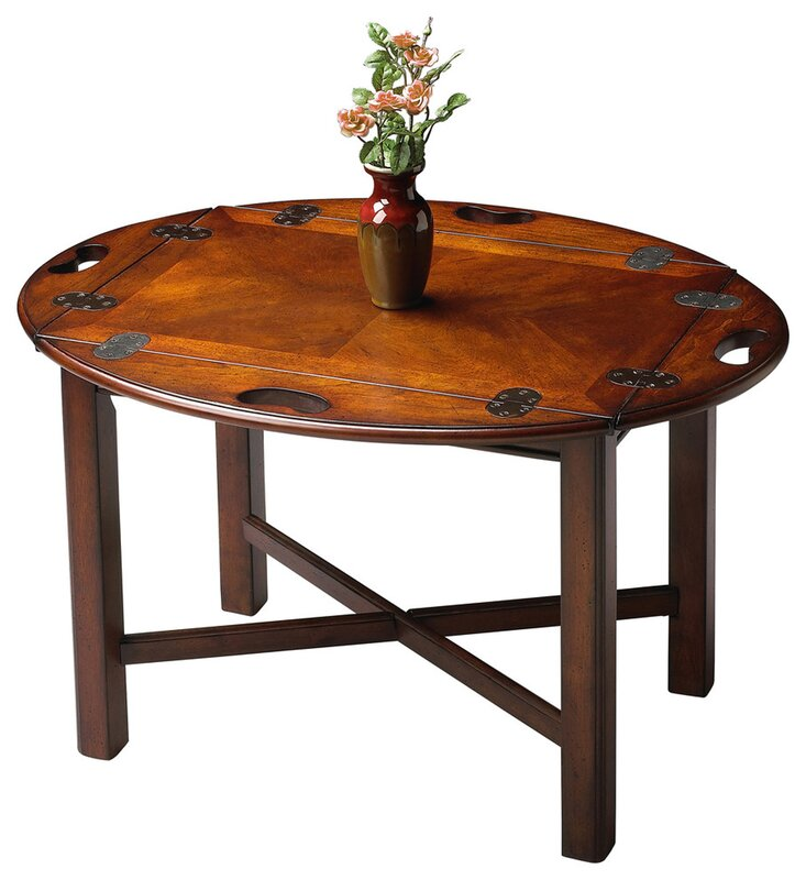 Lane Furniture Wood Coffee Table: Chalfont Coffee Table & Reviews