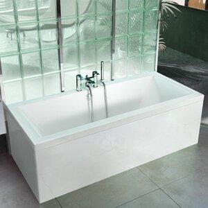 Enviro 170cm x 70cm Freestanding Soaking Bathtub