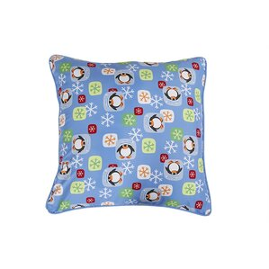 Penguin Holiday Pillow Protector by Affluence Home Fashions