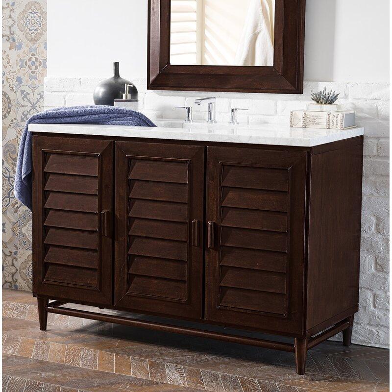"Portland 48"" Single Bathroom Vanity Base"