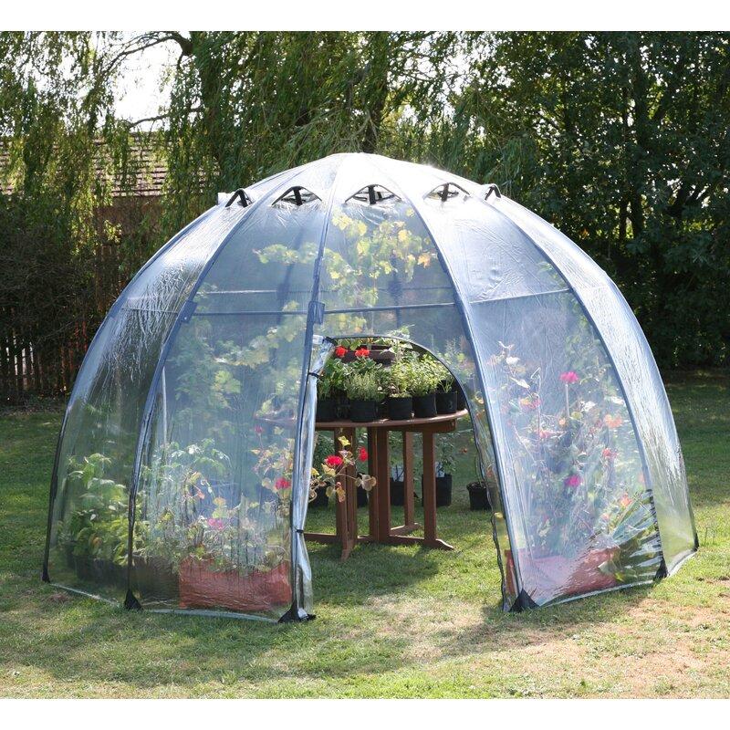 Haxnicks 11 5 Ft  W x 11 5 Ft  D Greenhouse