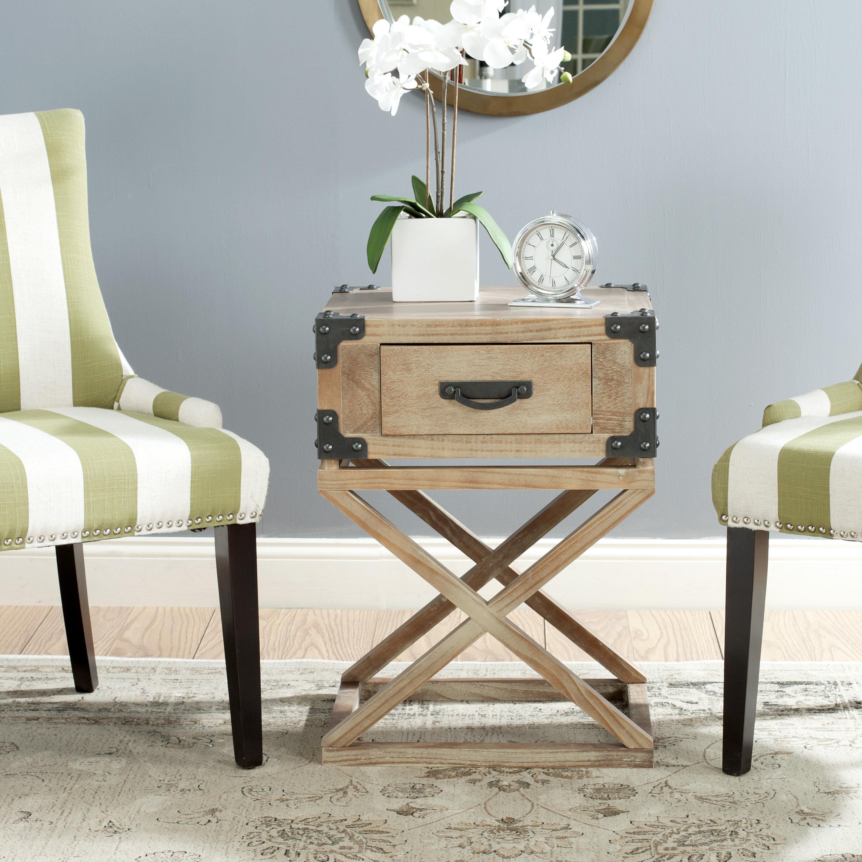 Attrayant Trent Austin Design Agoura Hills Dunstan End Table With Storage U0026 Reviews |  Wayfair