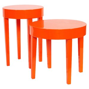 Casarez 2 Piece Lola End Table Set by Brayden Studio