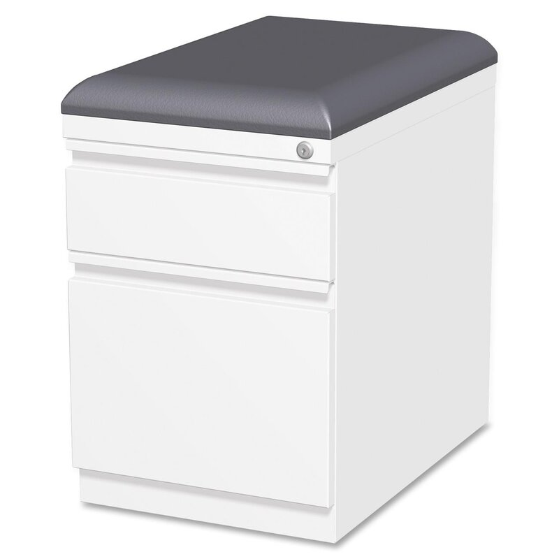 Lorell Cushion Seat Storage Mobile Pedestal File & Reviews | Wayfair