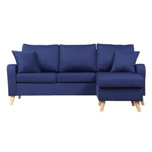 Northville Reversible Sectional  sc 1 st  AllModern : denim sectional sofa - Sectionals, Sofas & Couches