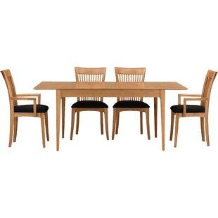 Sarah 5 Piece Solid Wood Dining Set
