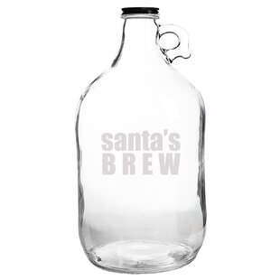 Cathys Concepts Down n Derby Glass Growler