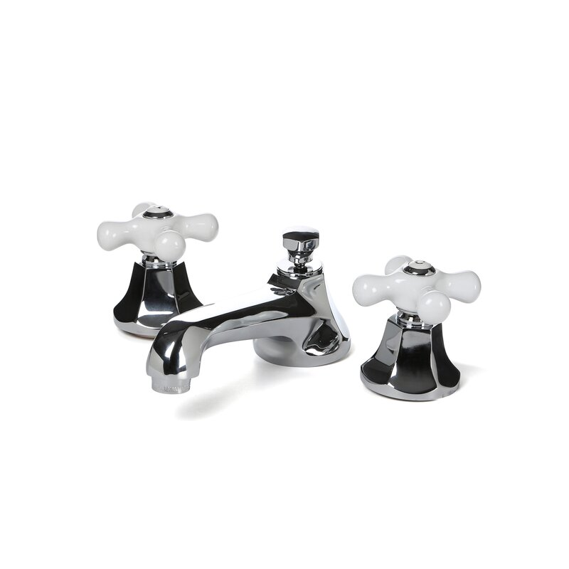 elements of design metropolitan widespread bathroom faucet with