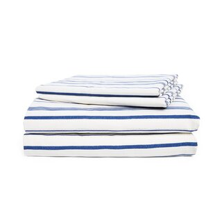 4 Piece 200 Thread Count 100 Cotton Percale Sheet Set